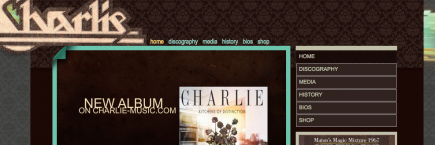 charlie-music.com screenshot