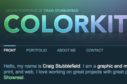 screenshot from colorkite.com